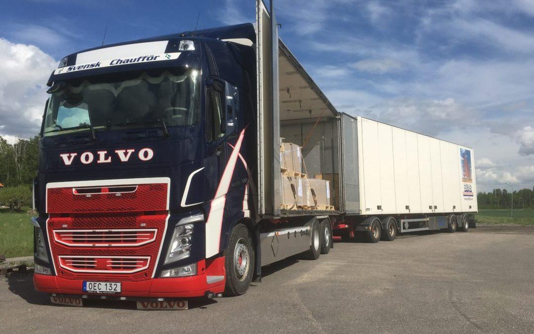 Volvo FH13 6X2 500 Flakväxlare