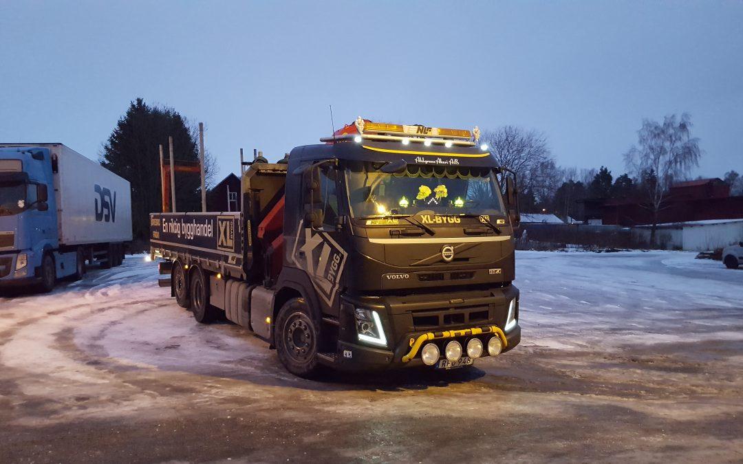 Volvo FM 6X2 Kranbil