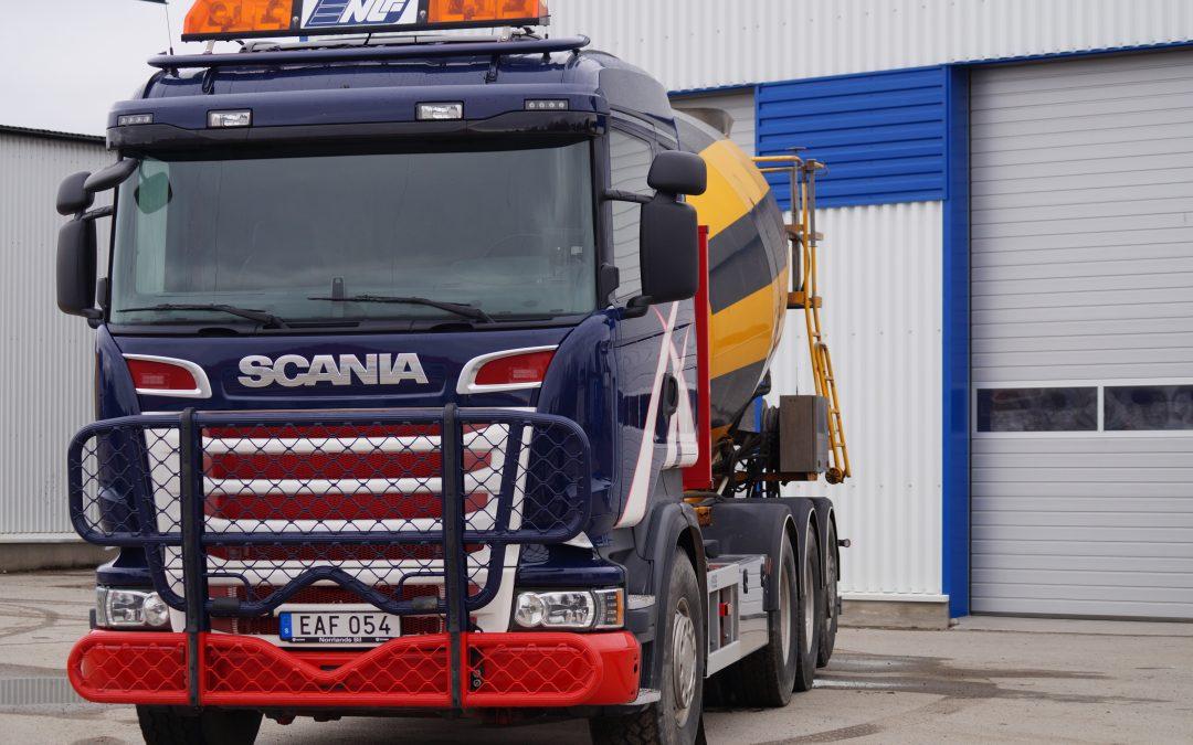 Scania R730 LB 8X4 Betong roterare