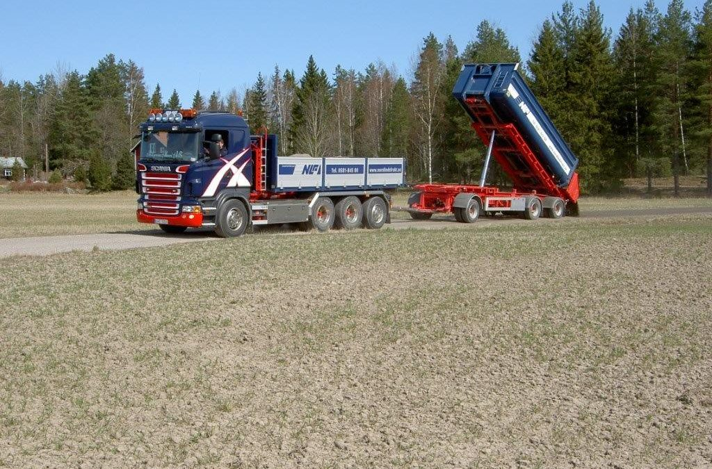 Scania R480 8X4 Lastväxlare
